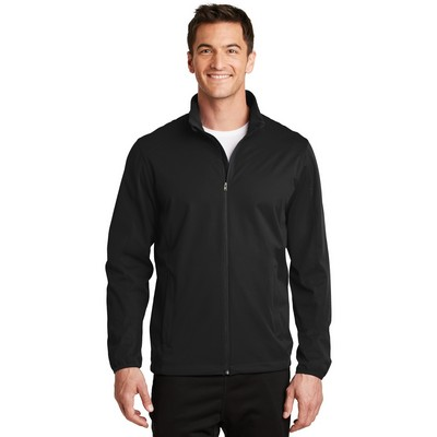 Port Authority® Men's Active Full-Zip Soft Shell Jacket