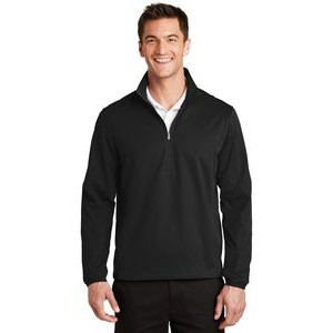 Port Authority� Men's Active 1/2-Zip Soft Shell Jacket